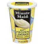 Ices 12 oz Cup Soft Lemonade Minute Maid 12ct